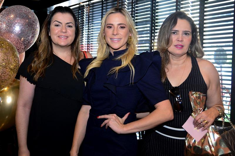 Rafaela Baquit, Martinha Freire e Adriana Lage