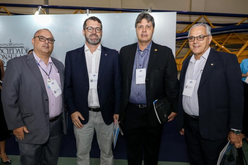 Carlos Alberto, Jose Maria, Marcos Verissimo e Aderaldo Gentil
