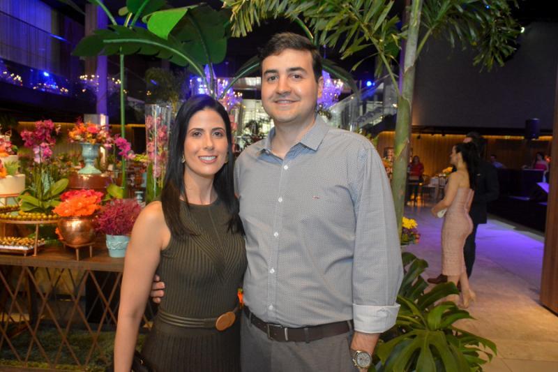 Renata Laercio e Wantan Filho