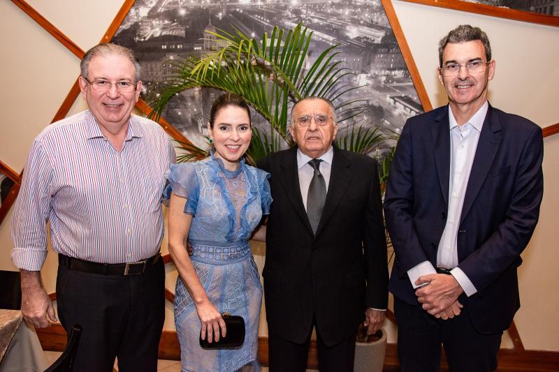 Ricardo Cavalcante, Agueda Muniz, Joao Carlos Paes Mendonca e Geraldo Luciano