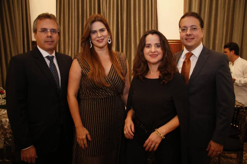 Gerson Cecchini, Mirella Accioly, Fernanda e Rodrigo Barroso