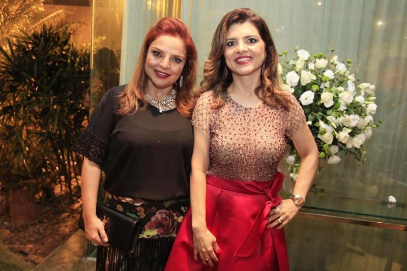 Raquel Alonso e Rilka Bezerra