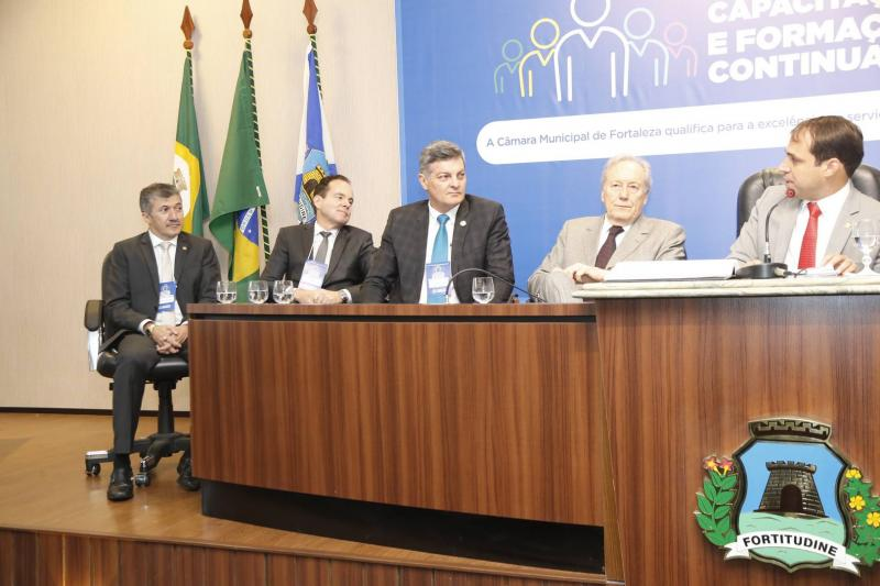 Antonio Henrique, Luiz Claudio, Cid Marconi, Ricardo Lewandowiski e Salmito Filho