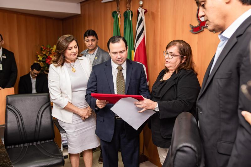 Igor Queiroz Barroso e Homenageado Cidadao de Caucaia