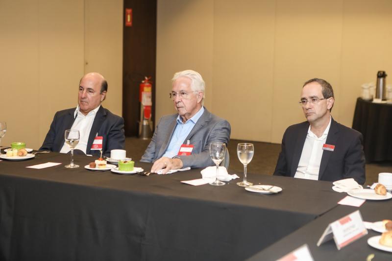 Silvio Frota, Carlos Prado e Sergio Resende