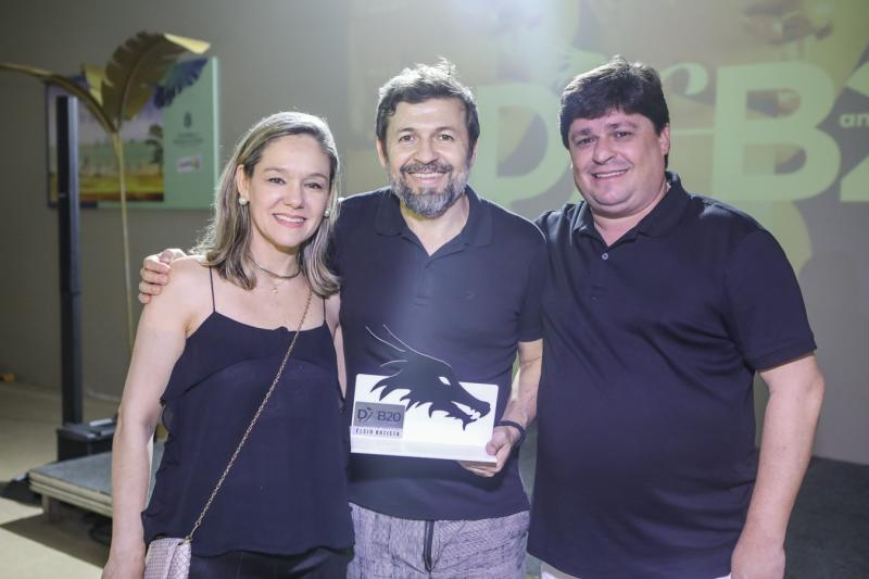 Erica Lima, Elcio Batista e George Lima