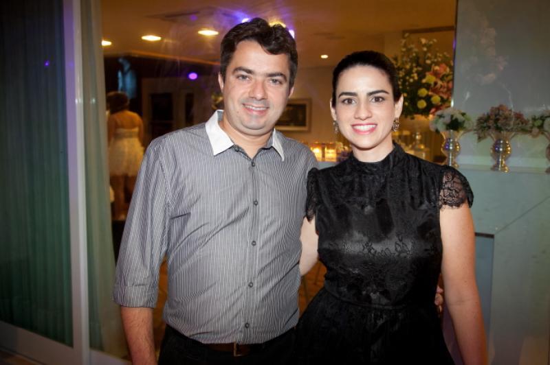 Pedro Ivo e Gisele Frota