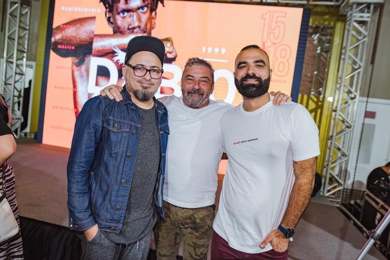 Charles W, Claudio Silveira e Thiago Nascimento