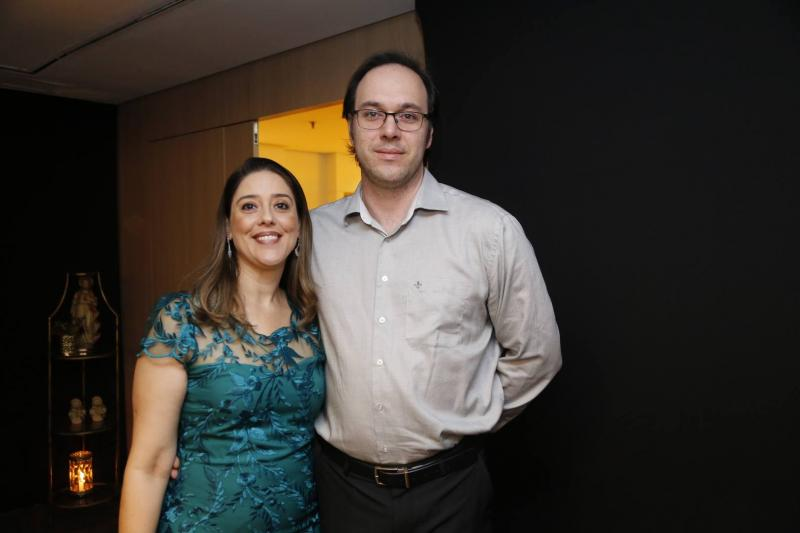 Adriana Girao e David Jussie