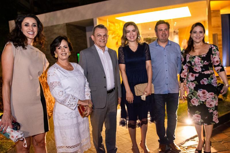 Graziela de Carolle, Neuma Figueiredo, Sarto Nogueira, Onelia Leite, Samuel Dias e Patricia Macedo
