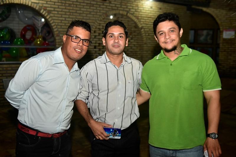 Wellington Cardoso, Elvis Figueiredo, Sebastian Torres
