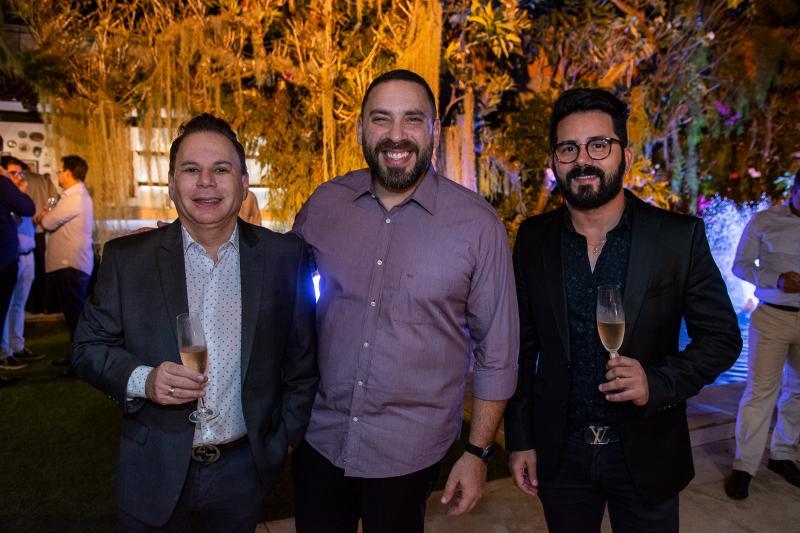 Marfrense, Nagib Acario e Julio Alves