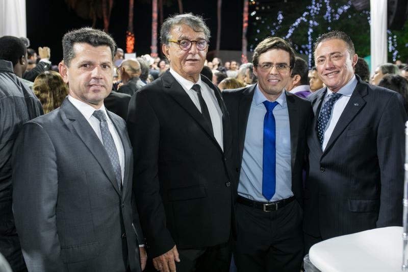 Erick Vasconcelos, Arialdo Pinho, Tasso Faco e Darlan Leite