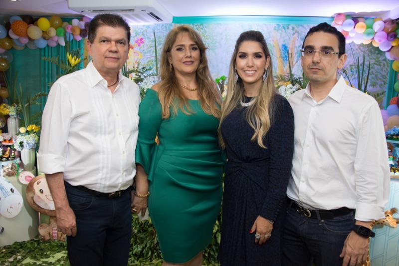 Mauro Filho, Mariza, Georgeanne e Marcio Benevides