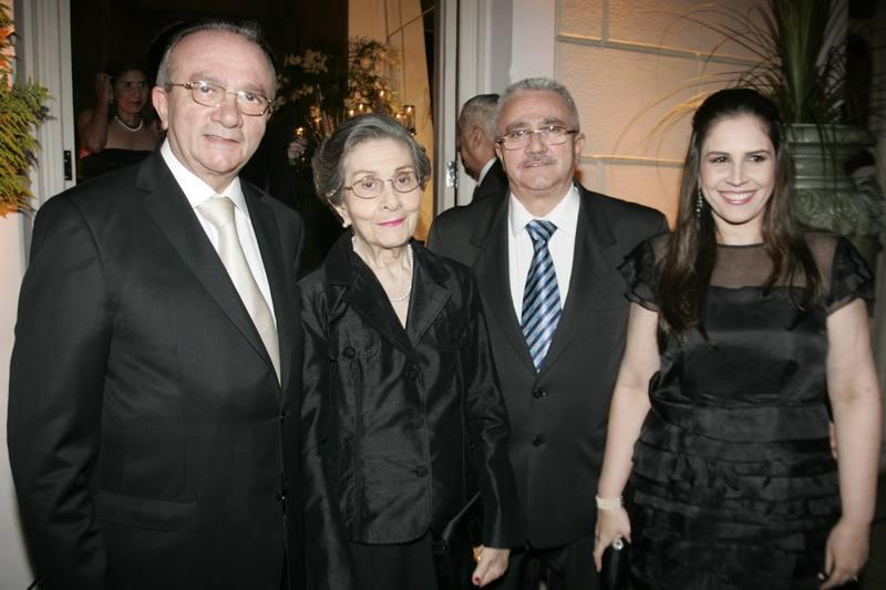 Cesar Asfor, Assiria e Alcimor Rocha e Fabiola Cals