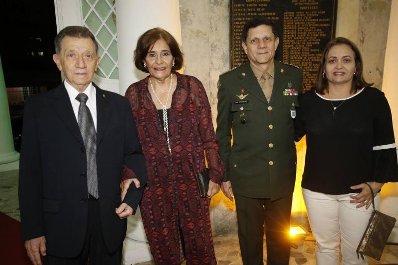 General Joao e Teresa Sousa, Jose e Celi Cordeiro