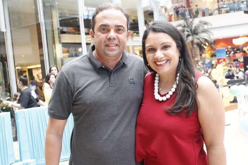 Teco e Aline Rocha