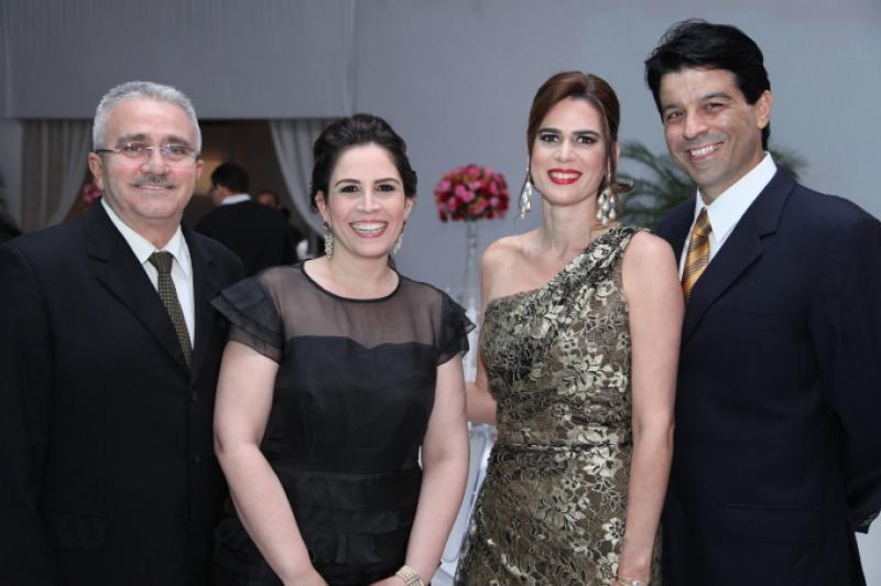 Alcimor Rocha, Fabiola Cals, Mirela Castro e Ronaldo Otoch