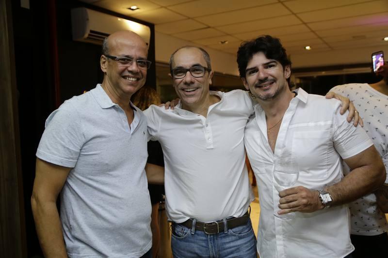 Wagner Fernandes, Betinho Santos e Fabio Fernandes