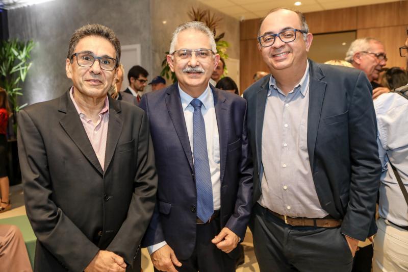 Airton Gonçalves, Nilson Diniz e Eduardo Neto
