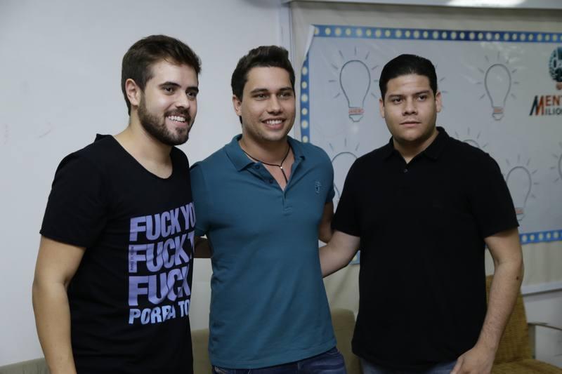 Romulo Cortez, Olavo Egydio e Pedro Paulo