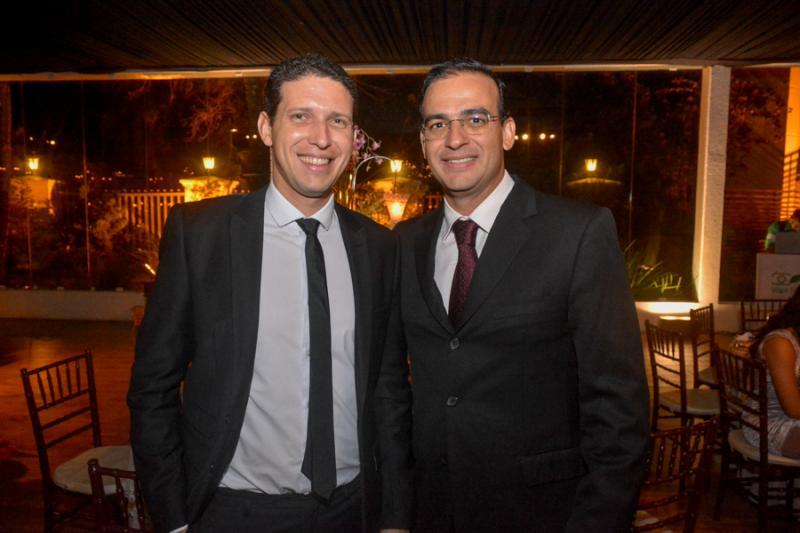 Tiago Mapurunga e Anastacio Dias