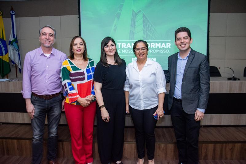Mauro Costa, Melina Barbosa, Bia Bocayuva, Ana Maria Xavier e Paulo Junior