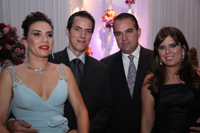 Ane e Leo Alcantara, Leo Albuquerque e Marina Bastos