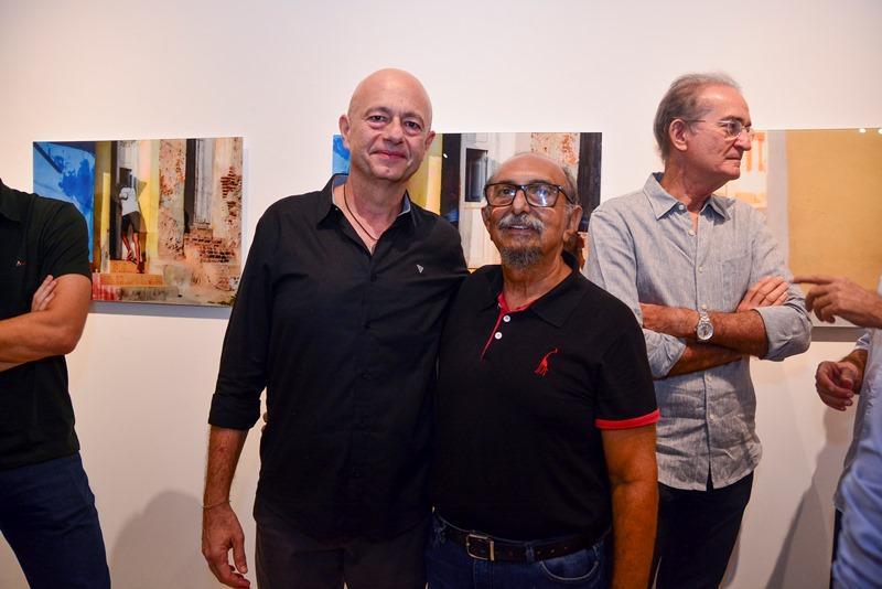Demetrio Jereissati e Roberto Galvao