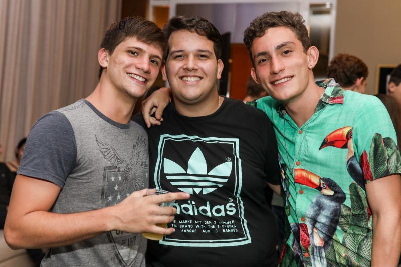 Daniel Fontes, Pedro Fiuza e Vinicio Feijo