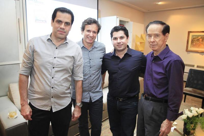Etevaldo Nogueira, Aderaldo Silva, Pompeu Vasconcelos e Capitao Fujita