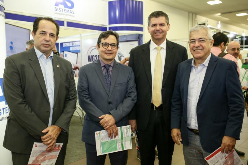 João Hilton,Edilberto Pontes,Juraci Muniz e Paulo Cesar Norões