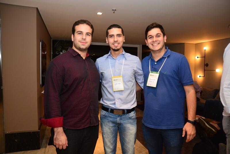 Paulo Salin, Nathan Mateus e Romualdo Neto