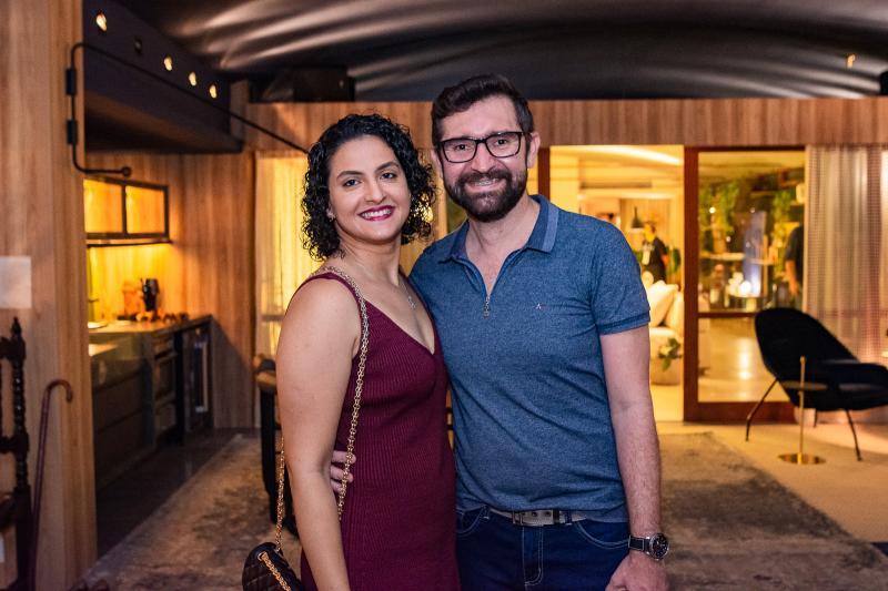 Jessica Bastos e Tarciano Santos