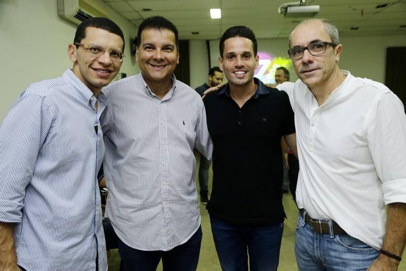 Renato Lima, Esio Feitosa, Rafael Sa e Betinho Santos