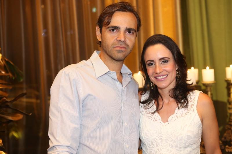 luis Alvaro e Aline Ponte
