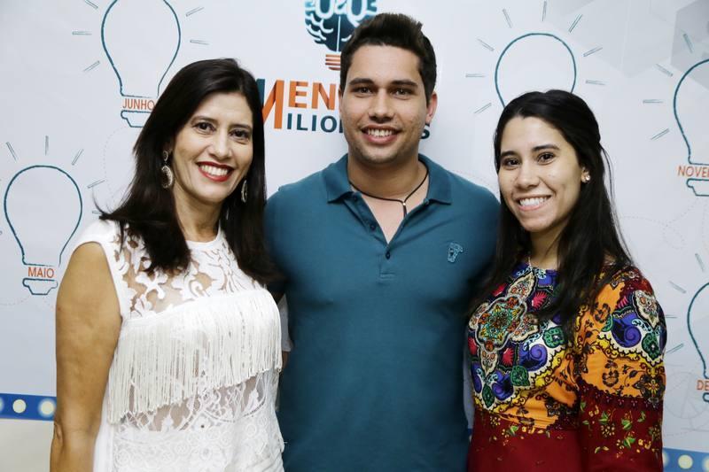 Silvia, Olavo e Ingrid Egydio