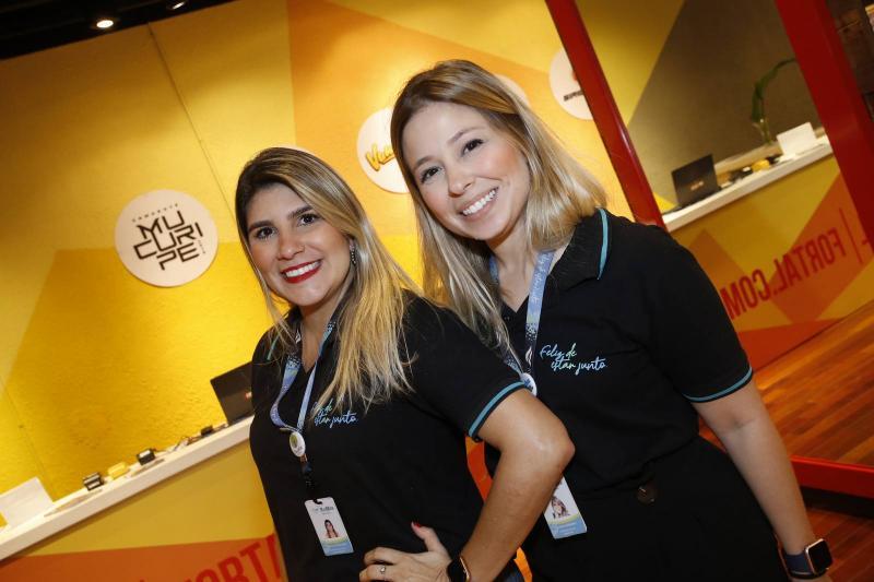 Natalia Cavalcante e Mayra Guerreiro