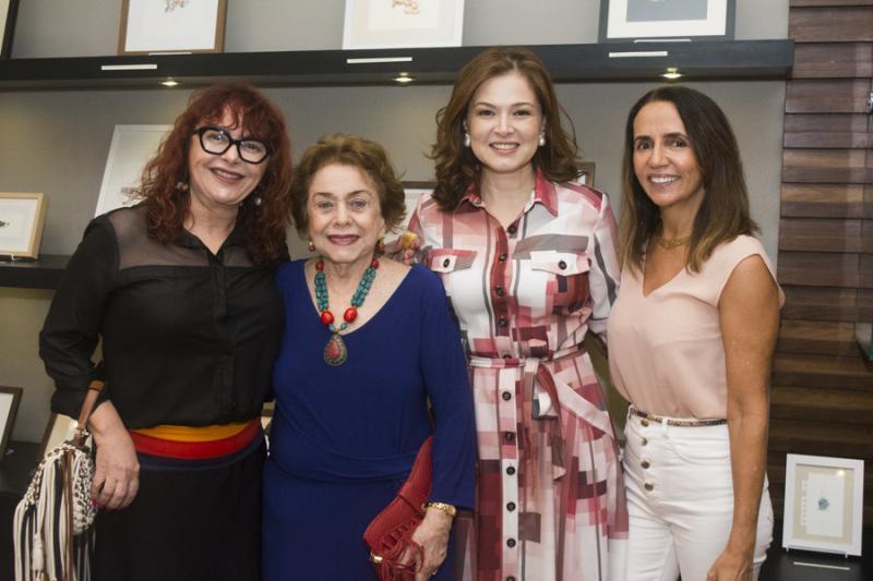 Cleydes Sndeaux, Marcia e Cheyla Furtado e Carla Bayde