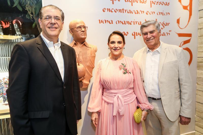Walter Farias,Patricia e Amarilio Macedo