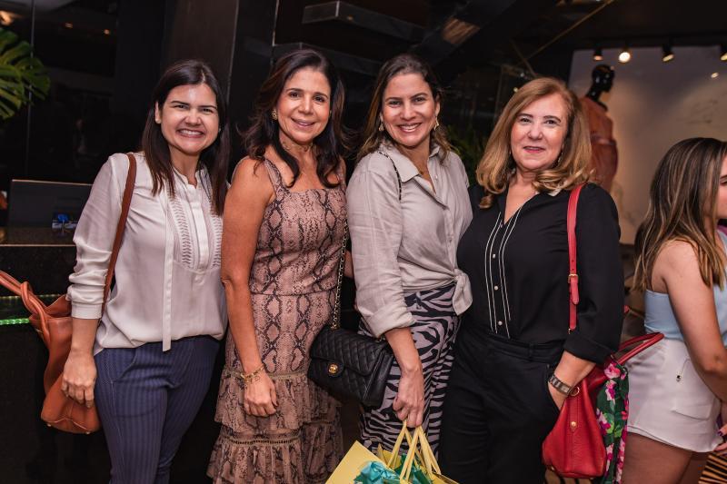 Ticiana Brigido, Maria Lucia Negrao, Luciana Borges e Joria Araripe