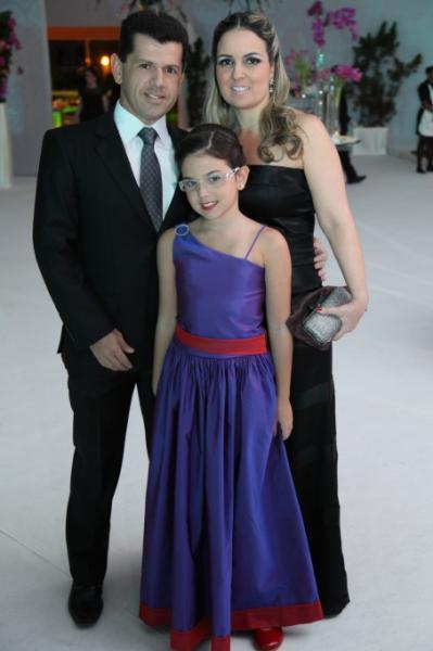 Erick, Raquel e Beatrice Vasconcelos