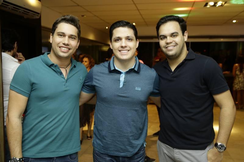 Olavo Egydio, Euclides Neto e Ivo Dias
