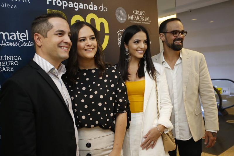 Diego Braga, Priscila Fiuza, Carol Mafra e Tavinho Brigido 2