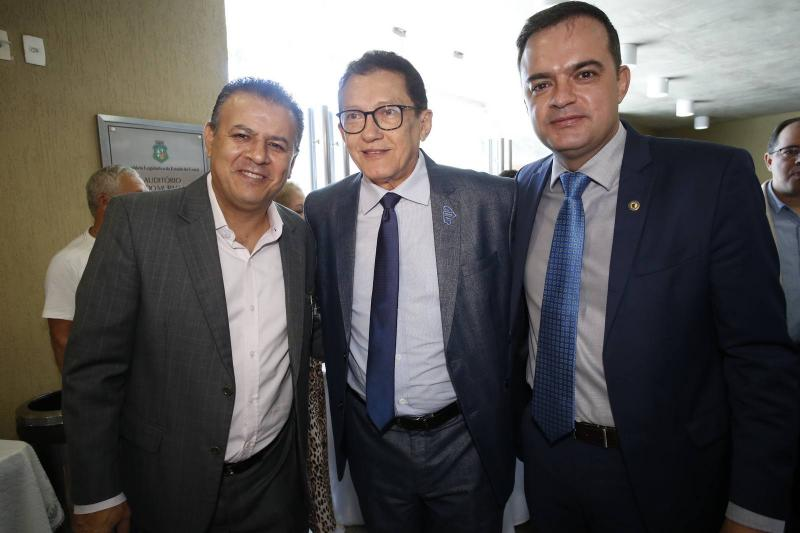 Valdir Fernandes, Elpidio Nogueira e Fernando Santana