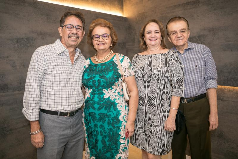 Genaro e Gorete Nobrega, Fatima e Paulo Reis