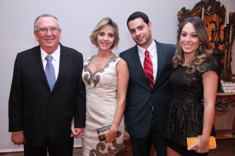 Valmir e Eunir Pontes, Eden Coimbra e Beatriz Pontes