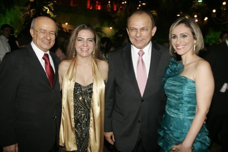 Jose Pimentel, Luizianne Lins, Honorio e Carla Pinheiro