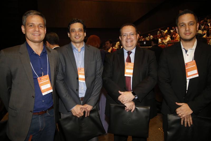 Rodrigo Quental, Celso Lelis, George Gress e Dhiego Vieira