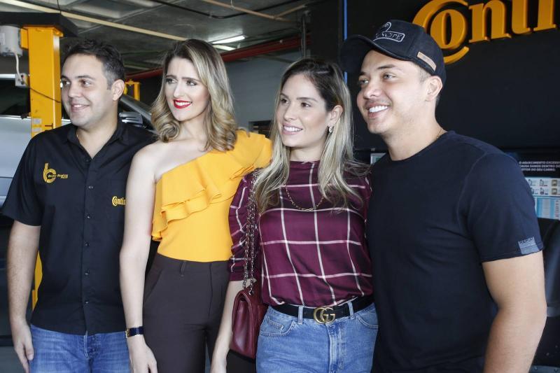 Bruno e Rebeca Bastos, Thyane Oliveira e Wesley Safadao 2